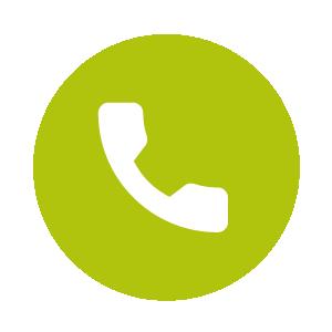 Dies ist ein Icon, das zeigt, dass man telefonisch Fragen zu Hängematten stellen kann