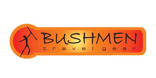 Dies ist das Logo des Hängematten Herstellers Bushmen