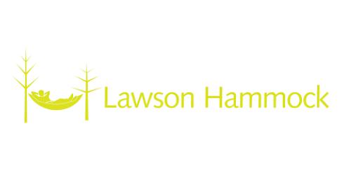 Das ist das Logo des Hängematten Herstellers Lawson