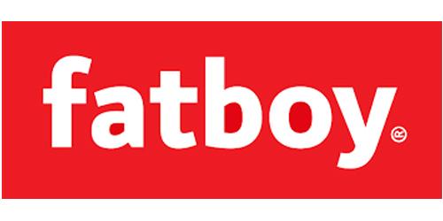 Auf dem Bild ist das Logo des Hängematten Herstellers Fatboy zu sehen