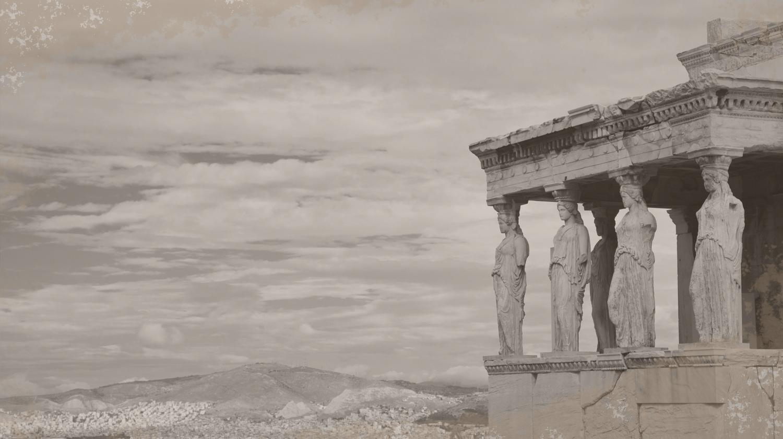 Dieses Bild zeigt eine antike Stadt