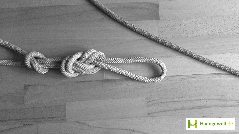 Schritt 1 – Becket Hitch Hängematten Knoten