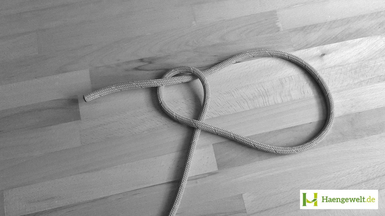 Schritt 2 – Palstek Hängematten Knoten