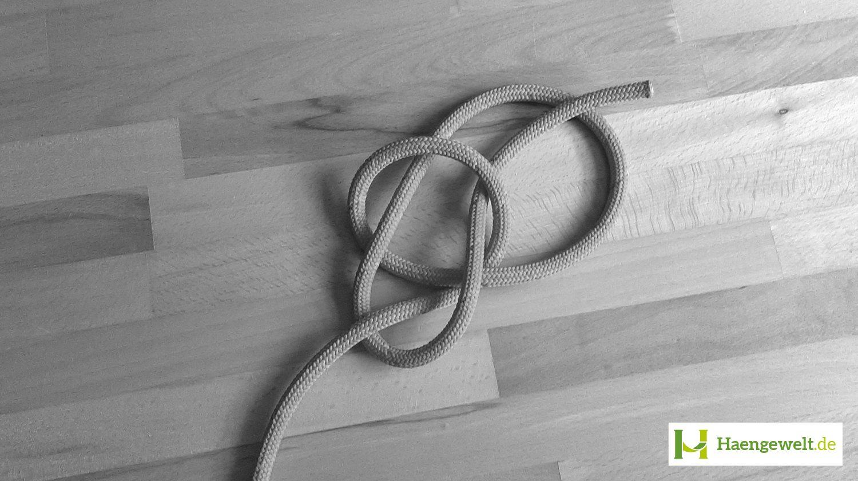 Schritt 3 – Palstek Hängematten Knoten